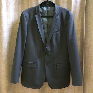 Zara Man Slim Navy Blazer (Men's)